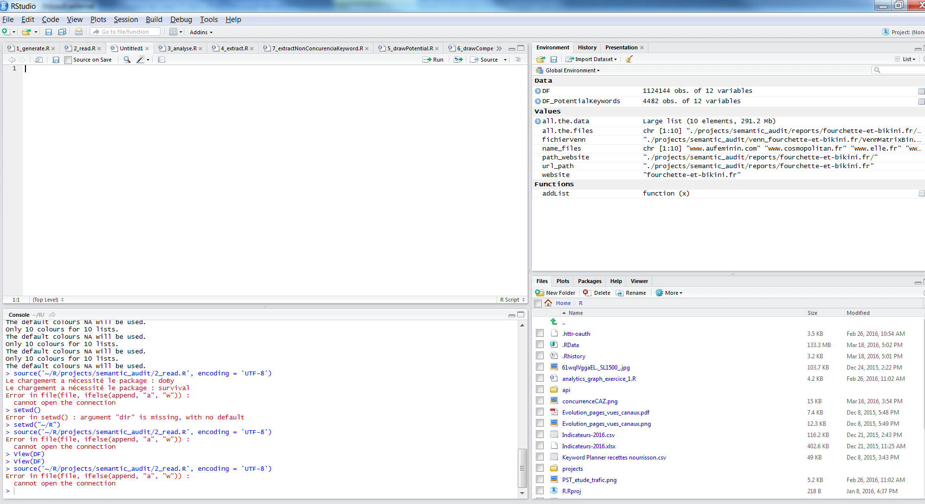 Installer RStudio pour le reporting
