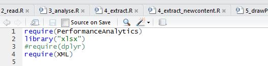 Execution d'un code R